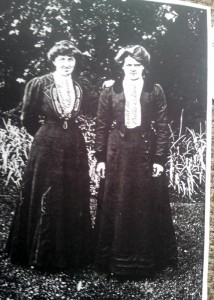 1915 Margaret Morrison Sim and Bella Wilson likely