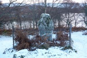 Loch Kinord - a walk one day (13) Pictish Cross