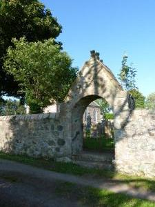 Chapel of Garioch Churchyard Gate