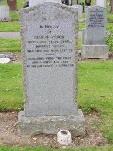 George Esson's grave
