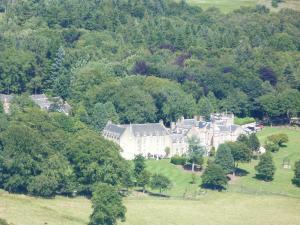 Pittodrie House from Bennachie