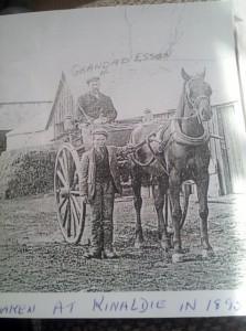 1910 William Esson - at Kinaldie 6.12.1870 6.1.1937