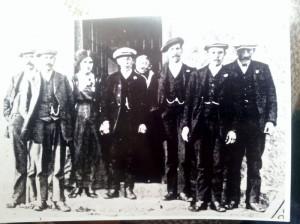 1912 Alexander Esson 1899  likely Margaret Gauld (b ca. 1833) in doorway..