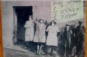 1920s Mrs Thom Jock Innes Jock Thom