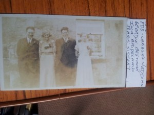 1936 Edward Esson married Christina Smith on 11.7.1936 with Geordie and Ina