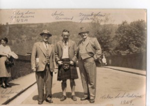 1949 Frank Low Alex Low Charlie Annand (Mary Lows husband