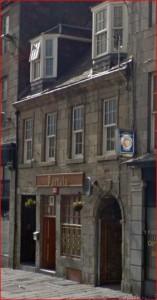 Aberdeen Castle Street  no.17  John Esson's wine shop 1874