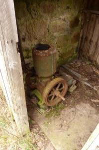 Engine for mill and bale lift - at Knockenzie - or next door ?