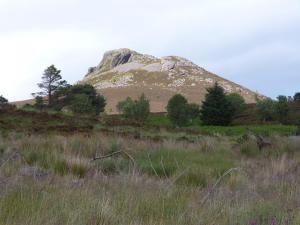 Bennachie From Near the Jamiesons House